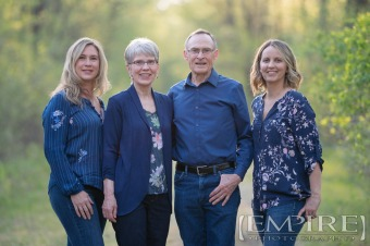 Anniversary Family Photo