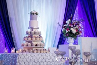 Wedding cake at punjab cultural center