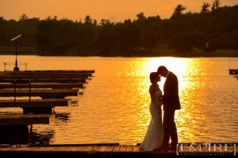 Cass-&-Dan-kenora-sunset