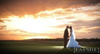 Holly-&-Cam-sunset-southwood-golf