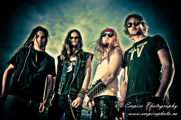 Promo shoot with 500 Pound Furnace - Empire Photography
