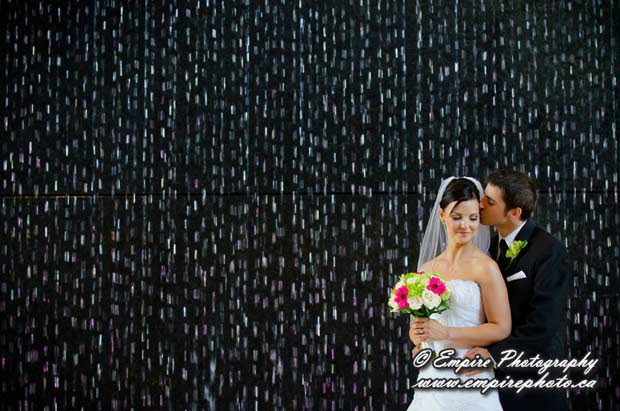 mb hydro building wedding photos