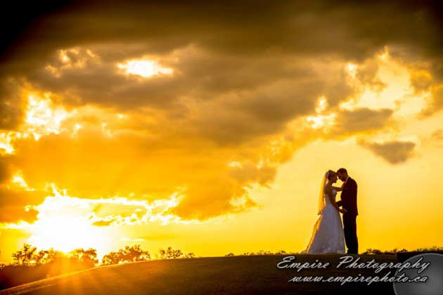bridges golf course wedding