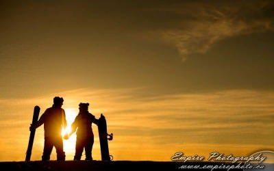 Snowboard Engagement Shoot with Mel & Ryan
