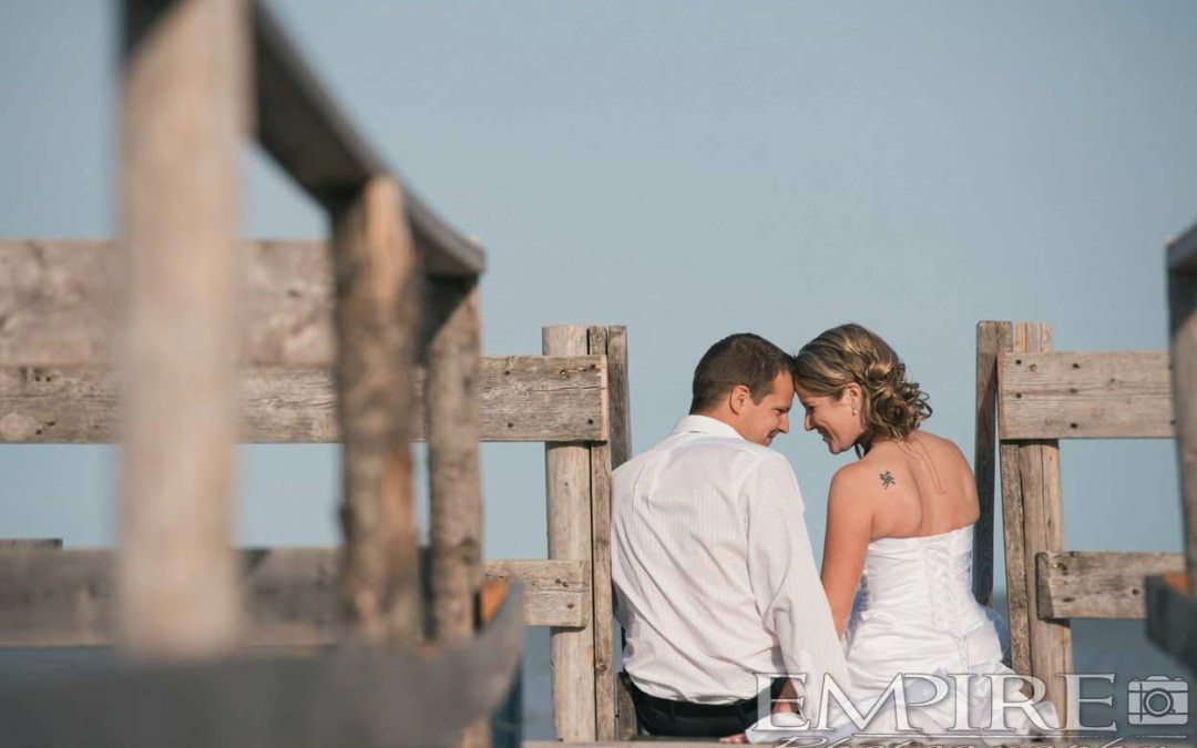 Trash the dress with Noelle & Iain in Gimli