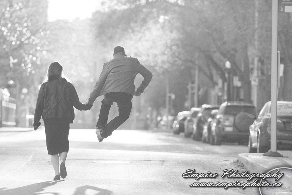 Engagement shoot with Alexis & Gary
