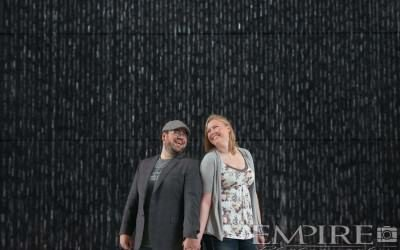 Engagement Photos with Kailee & Alex at Hydro building