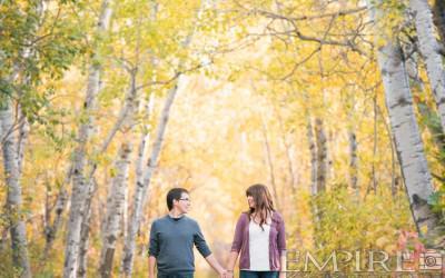 Engagement shoot with Laura & Shaun