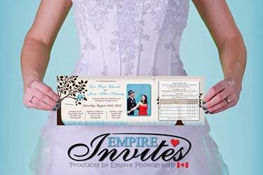 Online Winnipeg wedding invitations