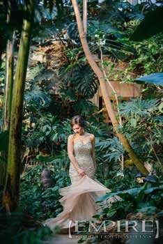 Assinaboine park conservatory wedding