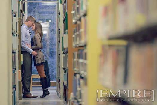 UofM library engagement photography
