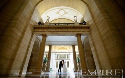 Wedding with Caroline & Steve at Hilton Suites