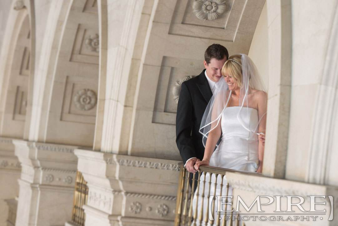 Hamilton building wedding photos