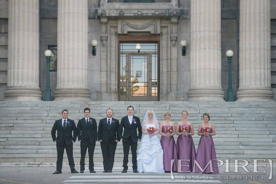 Legislative Building wedding