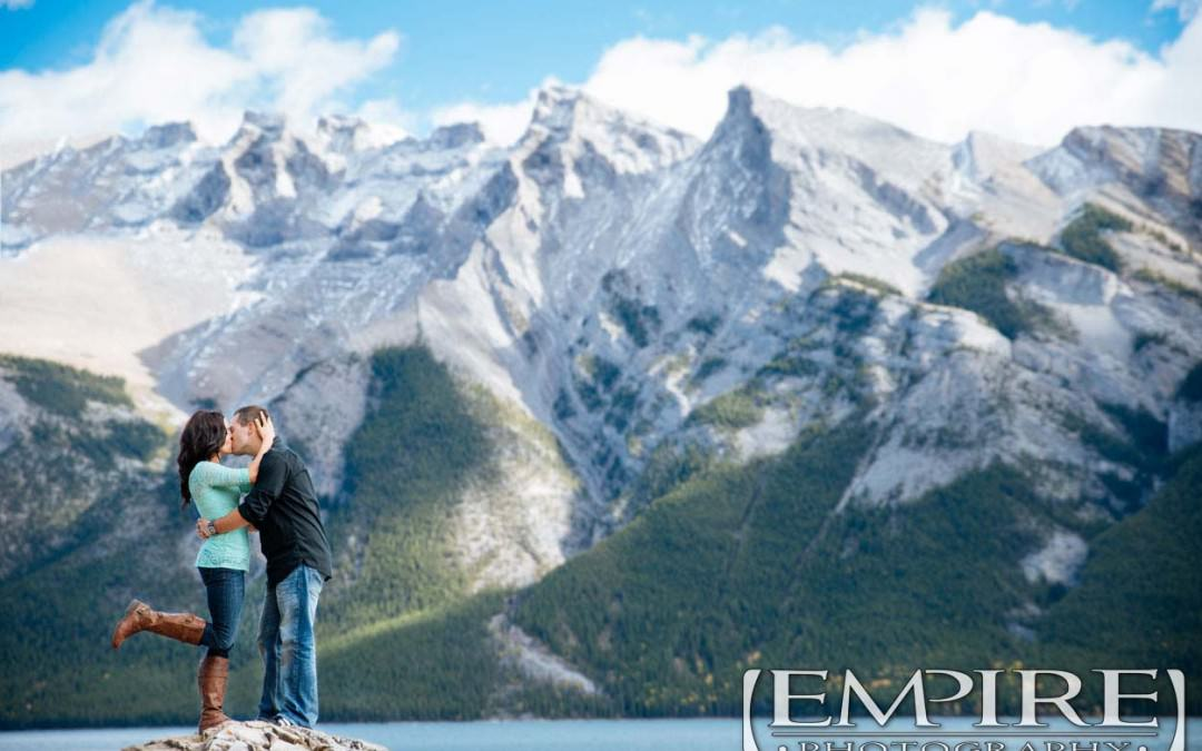 Banff Engagement shoot with Cynthia & Chris