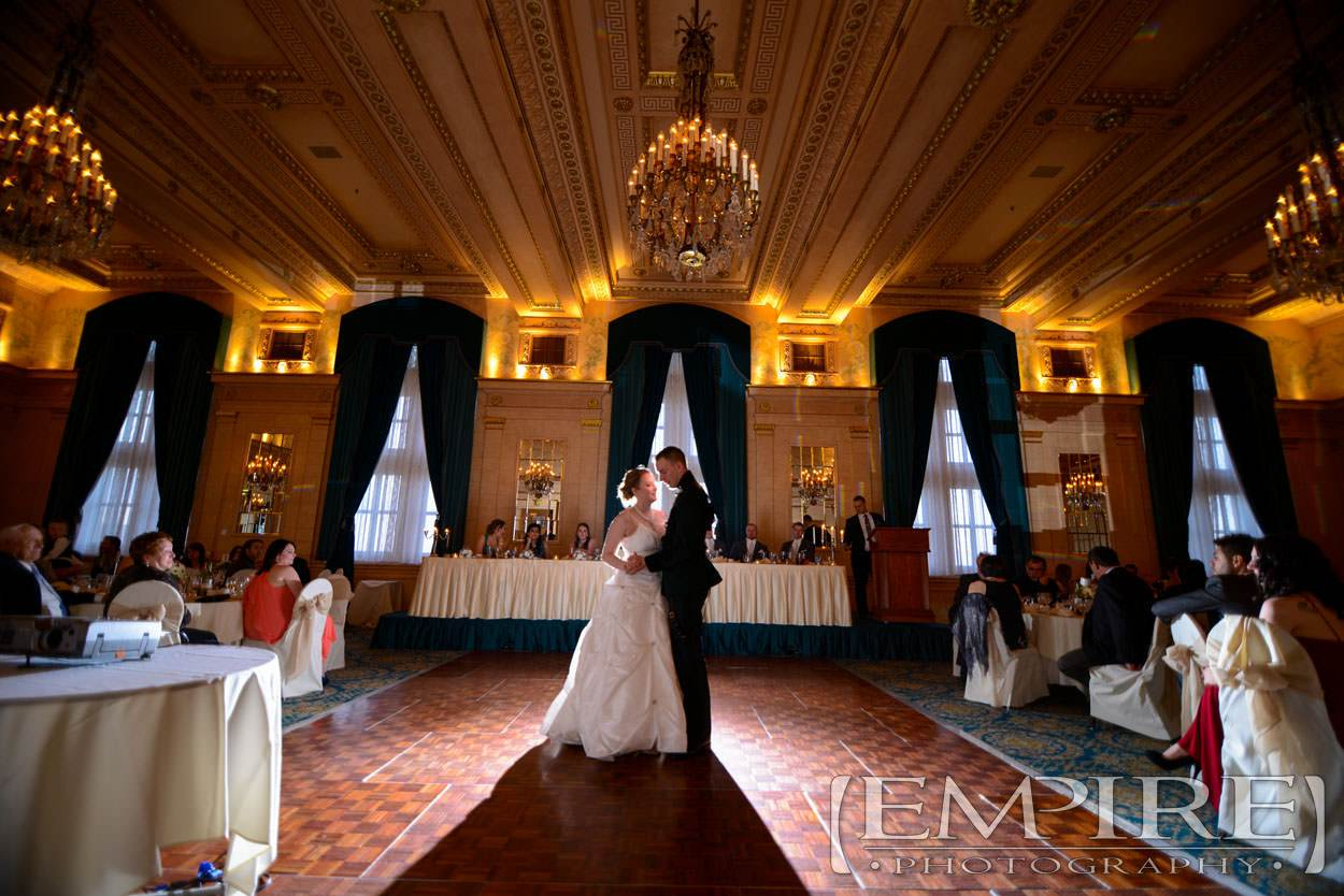 crystal ballroom first dance