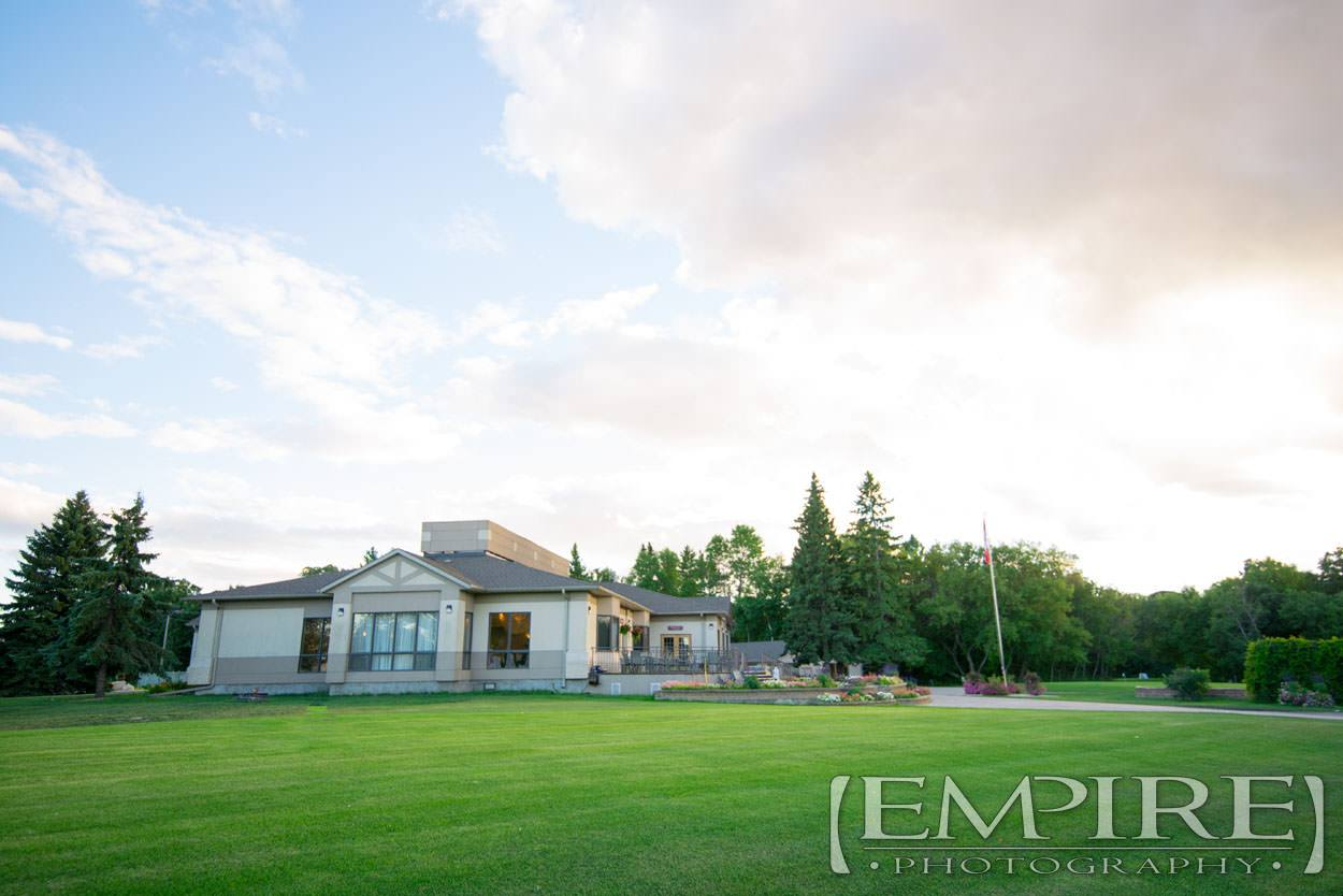 wedding venue at bel acres winnipeg