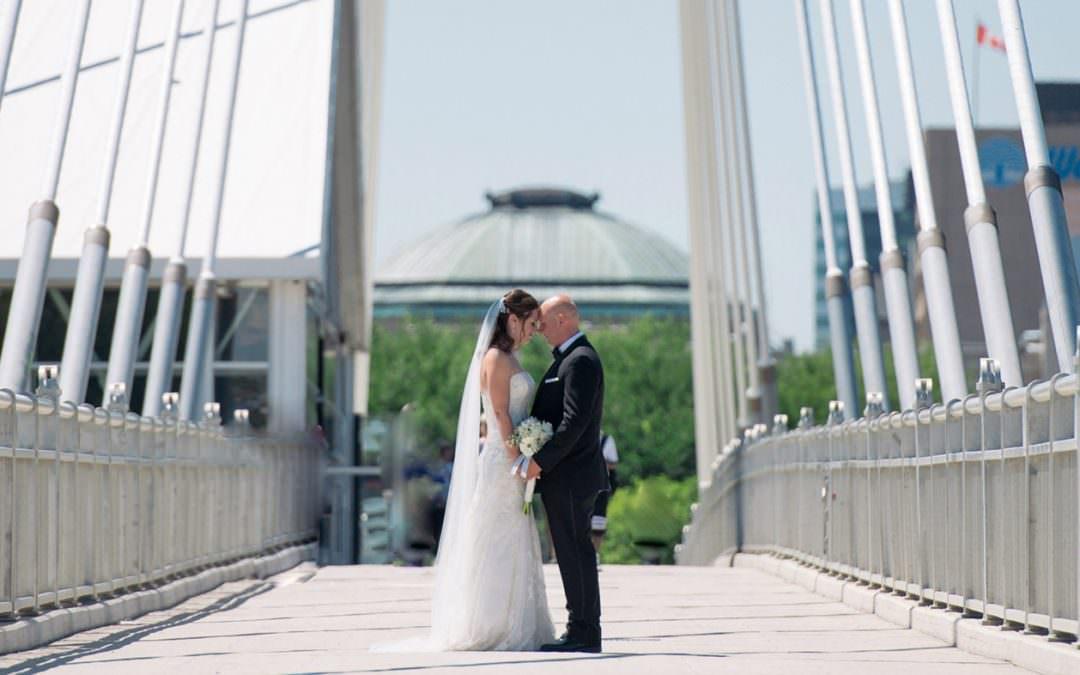 Wedding with Melanie & Trevor at Evergreen Village